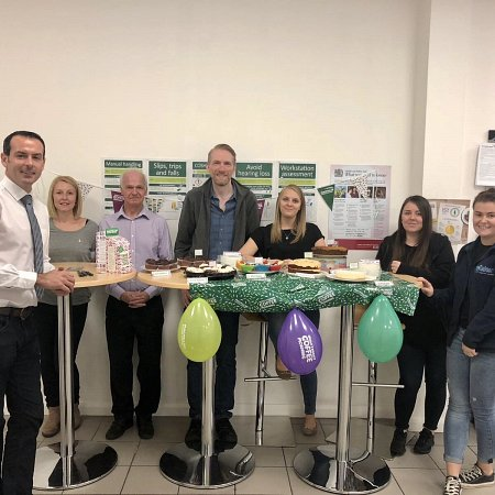 Laker raise £200 for Macmillan Cancer Support